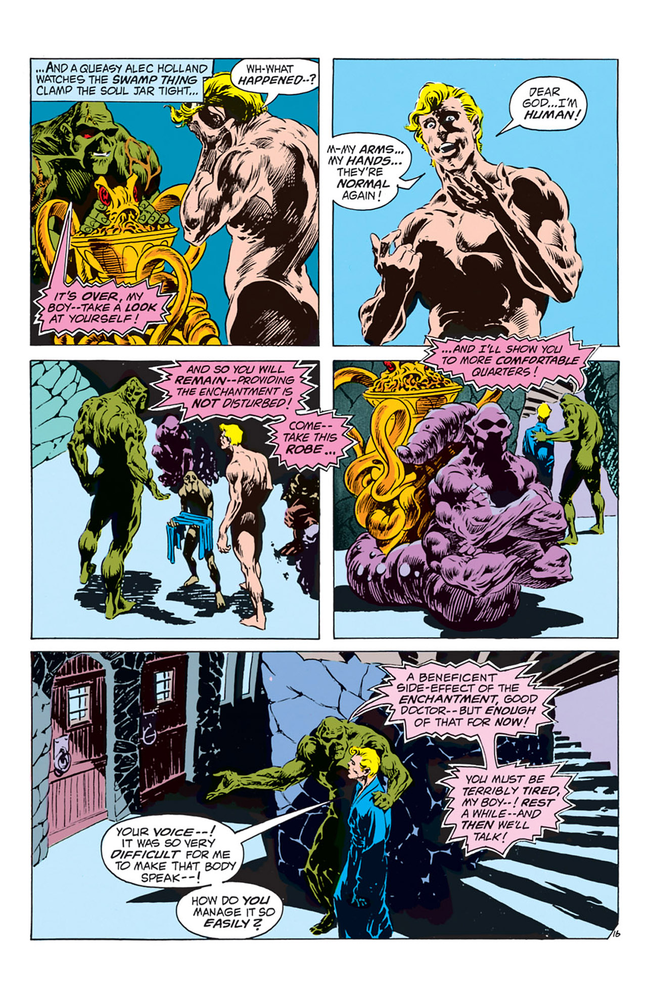 Swamp Thing (1972) Issue #2 #2 - English 17