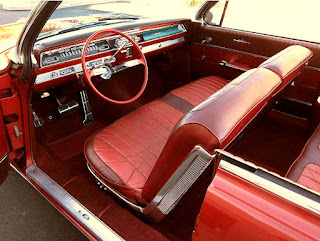 1962 Oldsmobile 98 Luxury Convertible Interior 1