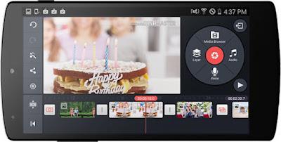 Aplikasi Edit Video Terbaik di smartphone android