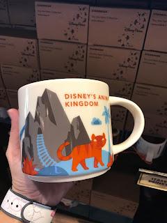 2018 Disney's Animal Kingdom Starbucks You Are Here Mug Collection