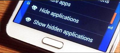 Cara Membuka Aplikasi Tersembunyi ( Hiden ) dengan Cepat Tanpa Unhide