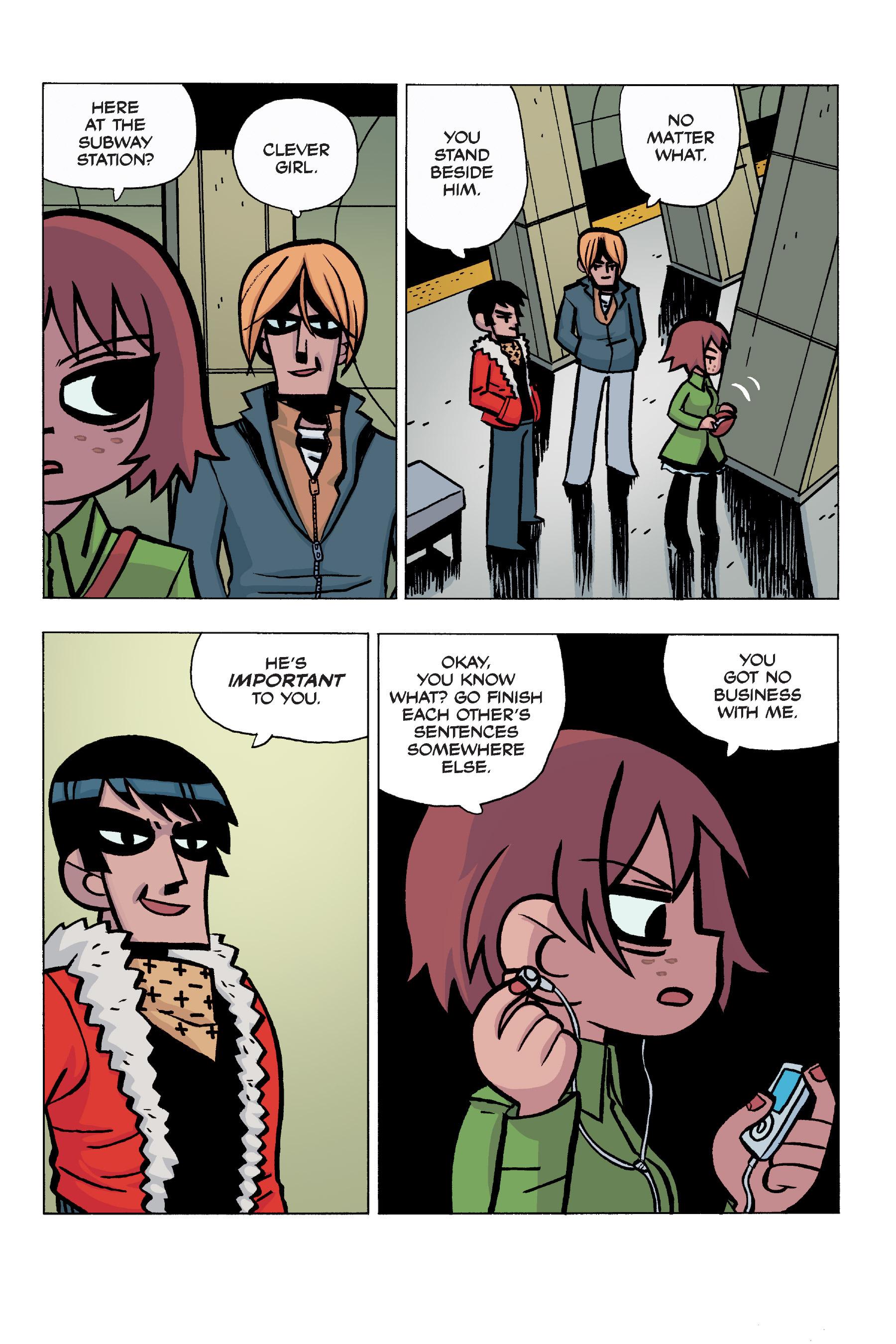 Read online Scott Pilgrim comic -  Issue #5 - 99