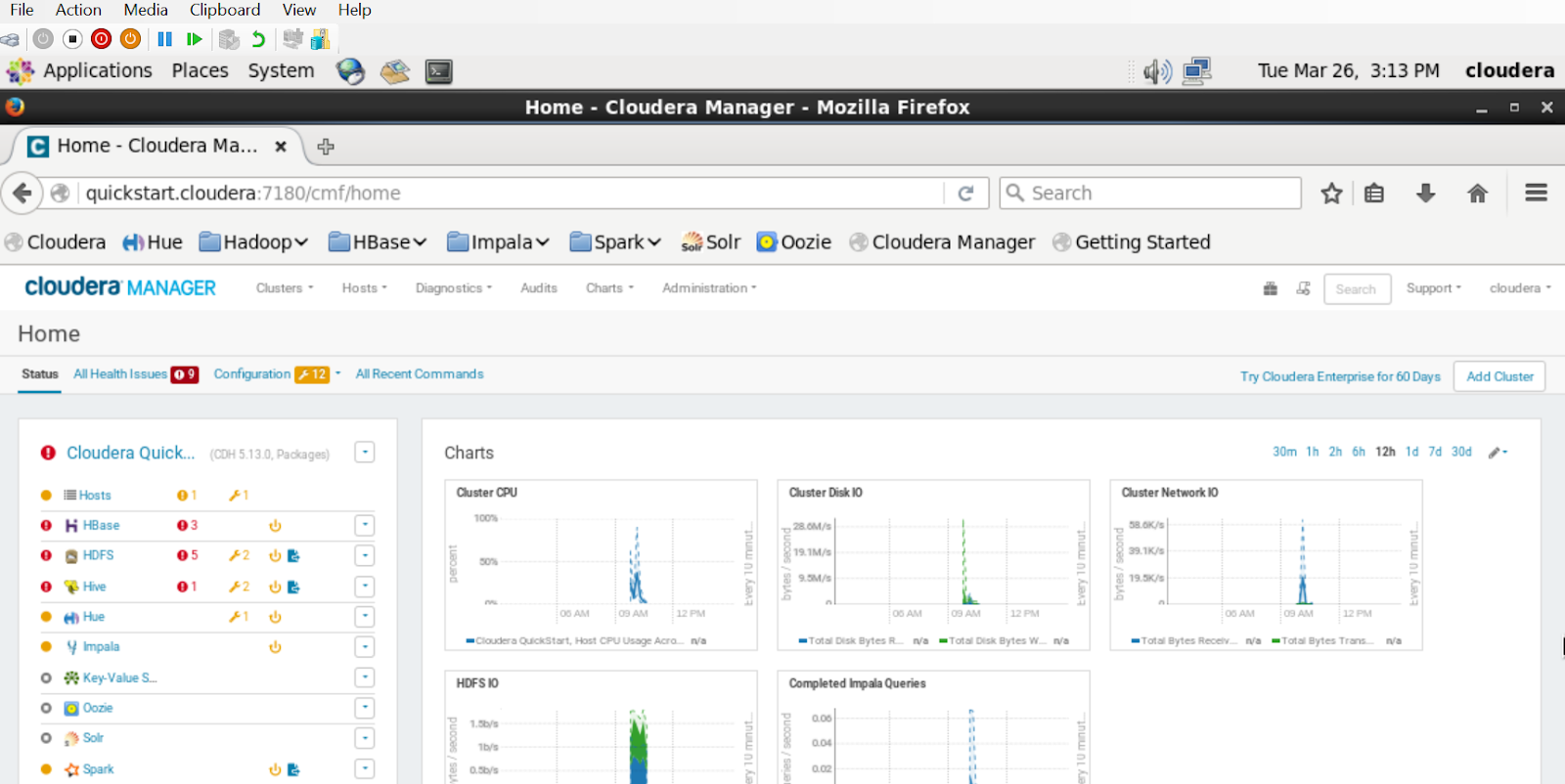 Rajan's View: Cloudera Quick Start VM in Hyper-V