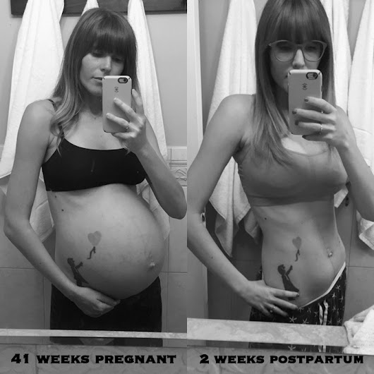 How I Lost The Baby Weight + My Pregnancy Workout Routine (tons of before + after pics!)