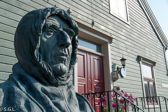Roal Amundsen en Tromso. Noruega