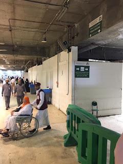 kereta elektrik di masjidil haram