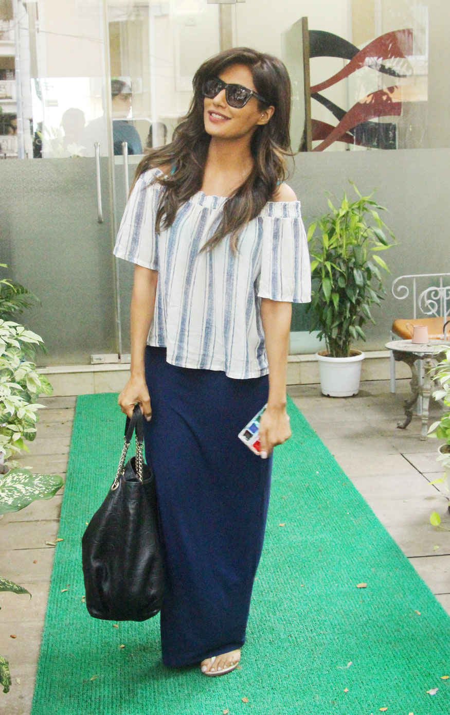 Chitrangada Singh at Muah Salon In Khar West, Mumbai