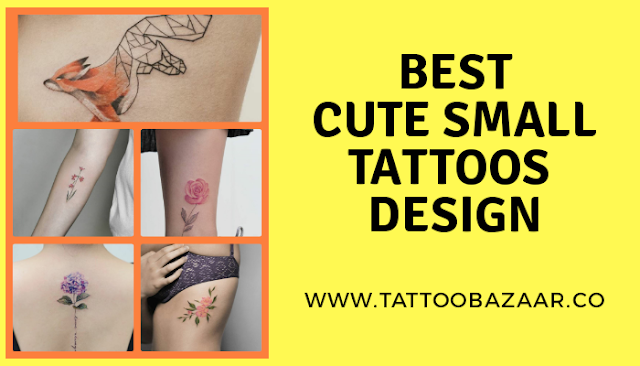 Best Cute small size tattoos that look attractive