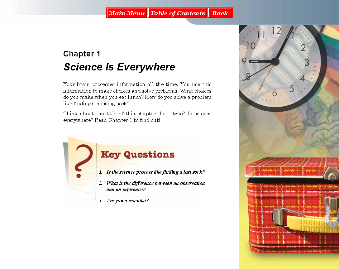 6th grade Chapter 1 CPO textbook | Miss Durant's Science Class