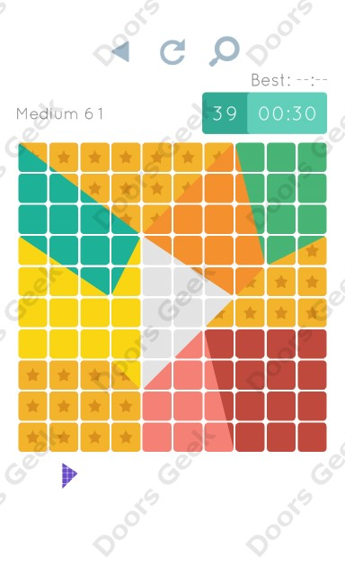 Cheats, Walkthrough for Blocks and Shapes Medium Level 61