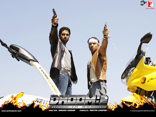 Abhishek Bachchan And Uday Chopra In Action