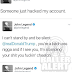 Lol. John Legend curses out on Twitter, then claims his account was hacked but his wife Chrissy Teigen doesn't believe him