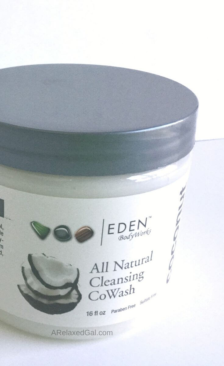 Eden BodyWorks Coconut Shea CoWash review | A Relaxed Gal