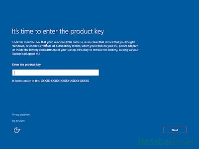 Tutorial lengkap cara install windows 10 lengkap dengan gambar