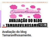 Blog Tamaravilhosamente