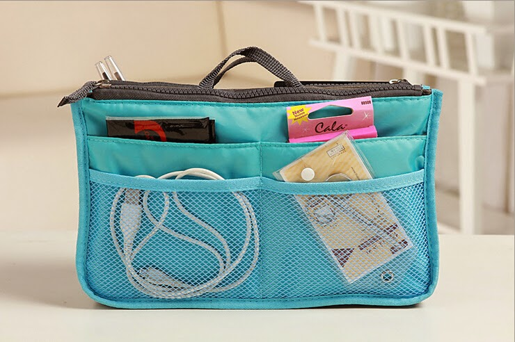 Lady's organizer bag multi functional cosmetic storage