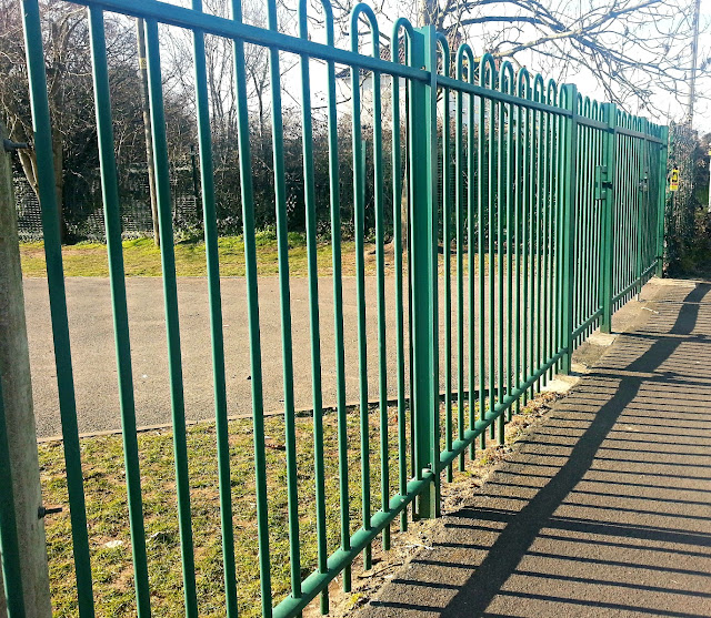 Green school gates