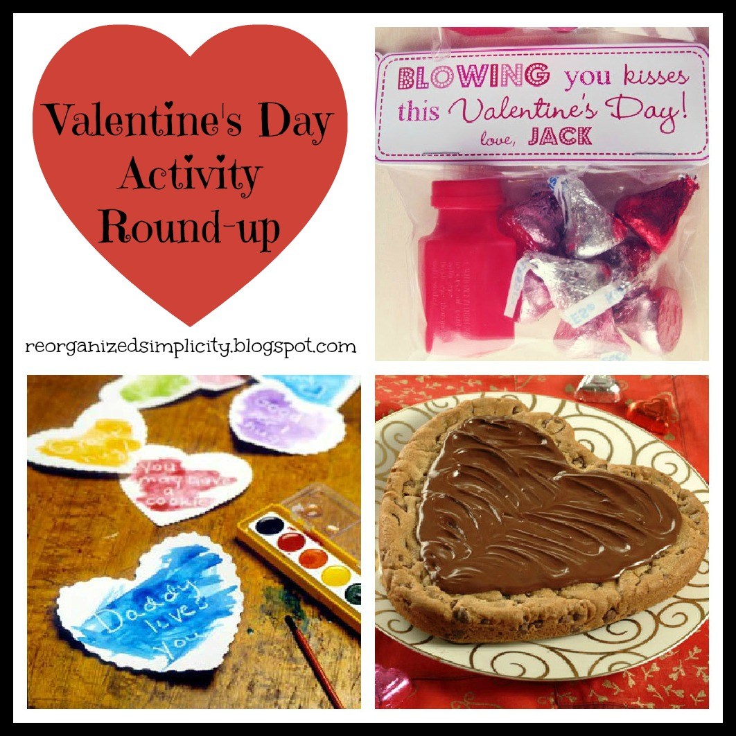 Reorganized Simplicity Valentine S Day Activities Round Up