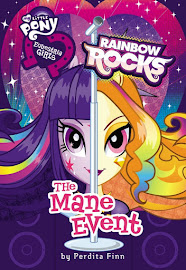 MLP Equestria Girls: Rainbow Rocks, The Mane Event Book Media