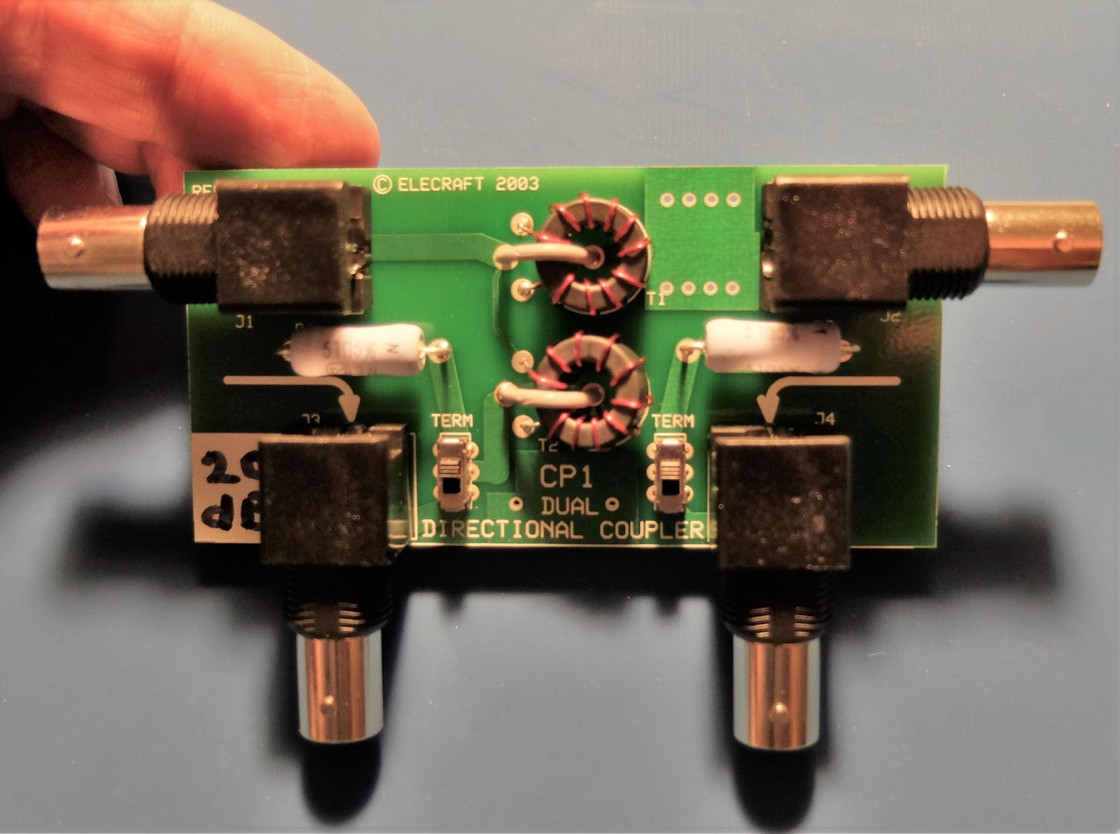Ham Radio - QRP: Get a taste of the RF coming and going