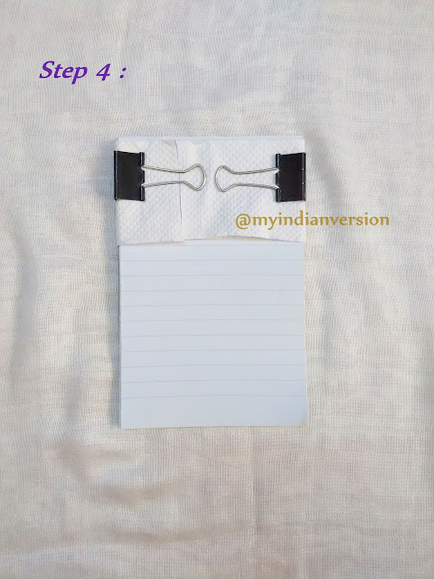 DIY Magnetic Notepad Tutorial - Step 4