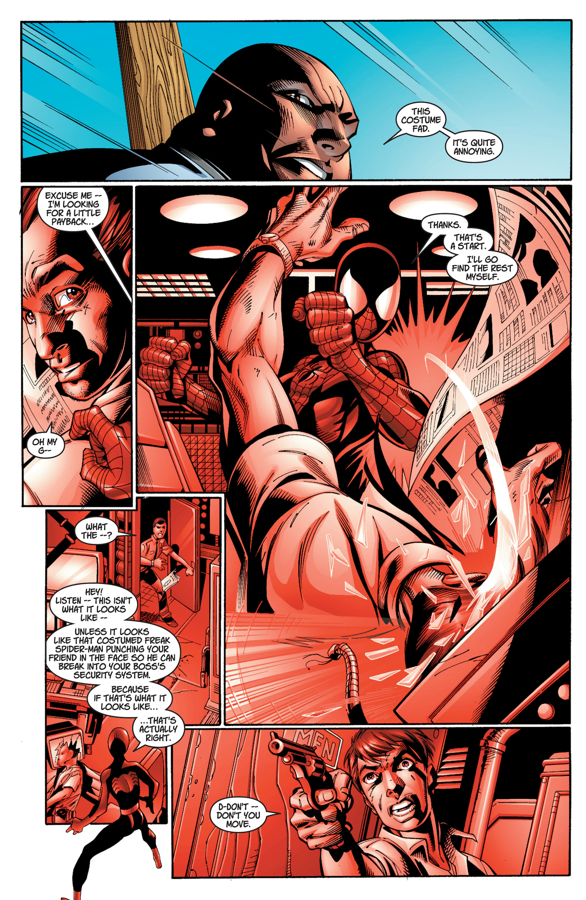 Read online Ultimate Spider-Man (2000) comic -  Issue #11 - 16