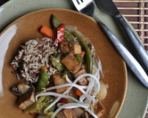 Marinated Tofu Stir-Fry