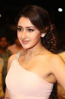 Sayesha Spicy Half Shoulder Cream Gown at Zee Telugu Apsara Awards 2017 04.JPG