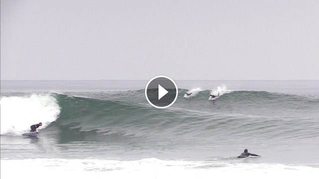 2 KOOKS score perfect waves at LOWERS with Junior PROS