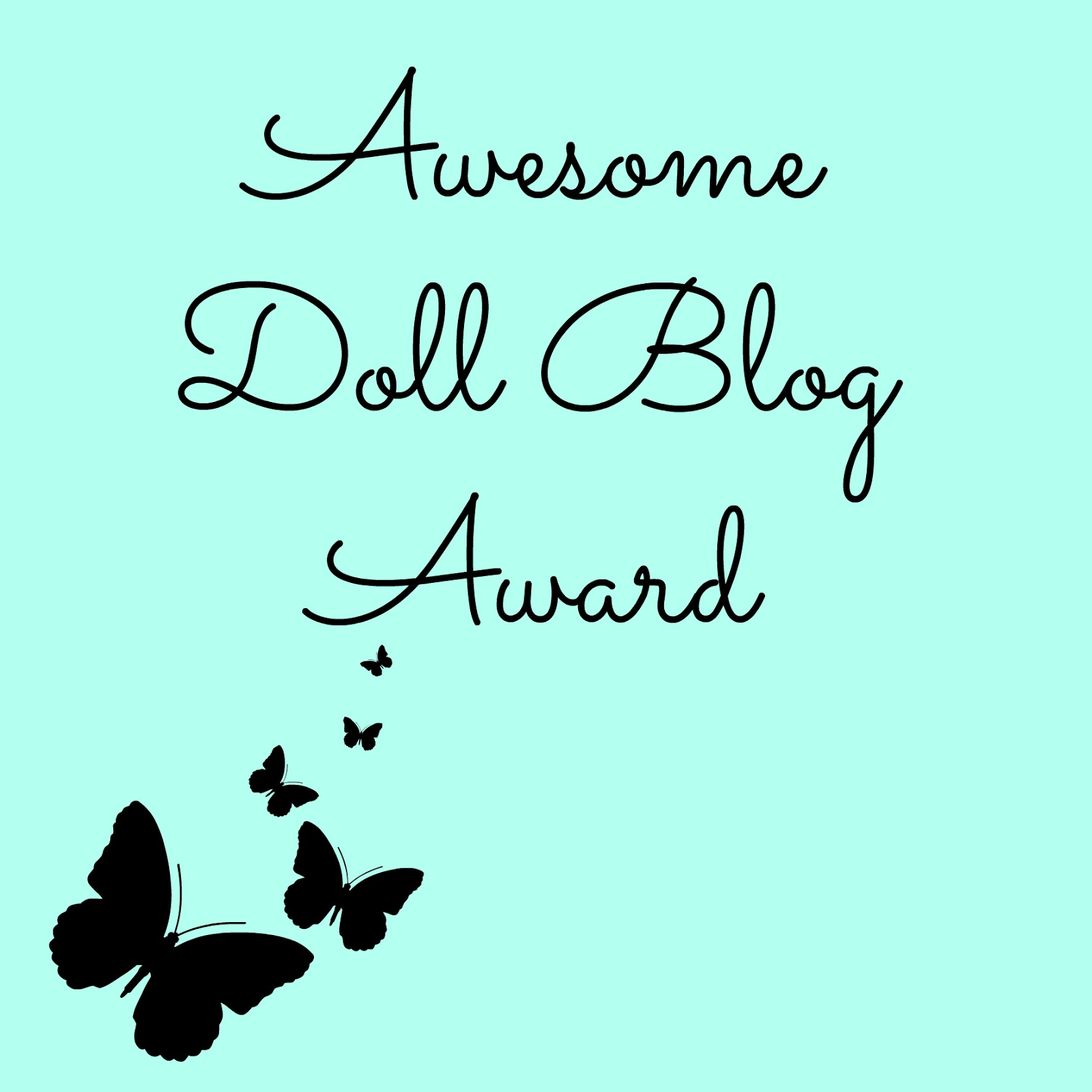 The Awesome Doll Blog Award!
