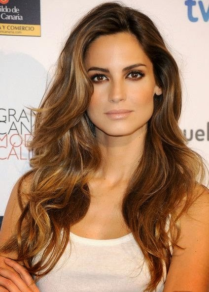 suchatrendy: 12 Flattering Dark Brown Hair with Caramel ...