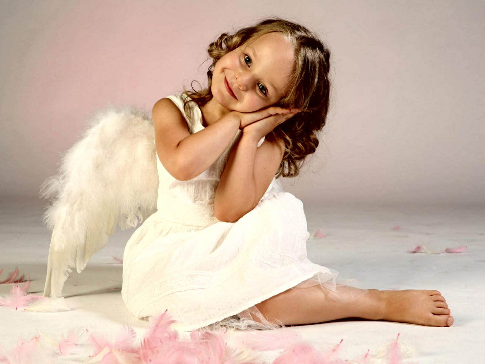 wallpapers angel babies wallpapers
