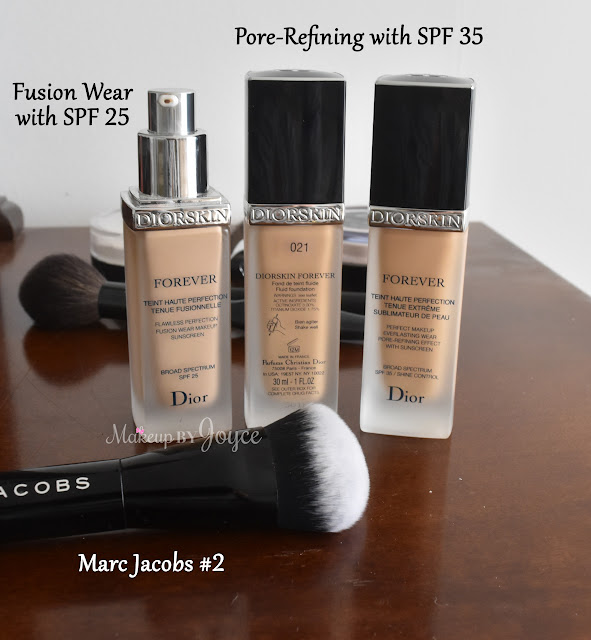 Dior Forever Perfect Makeup Everlasting Wear Pore-Refining Effect Foundation SPF 35 021 Review