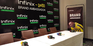 Infinix Mobile signs Davido as brand ambassador