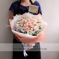 bouquet coklat,jual hand bouquet coklat, madame florist, florist jakarta selatan,