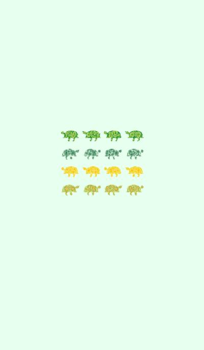 Turtle's small symbol