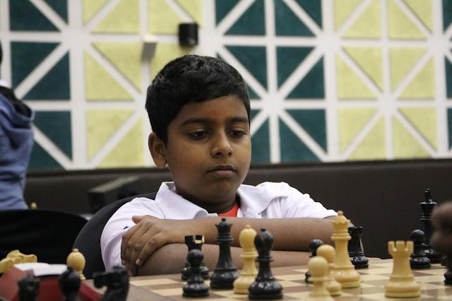 U-13 Champion – 10 Year Old Pranav V of India