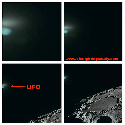 UFO SIGHTINGS DAILY: Blue Glowing UFO Discovered In Old ...