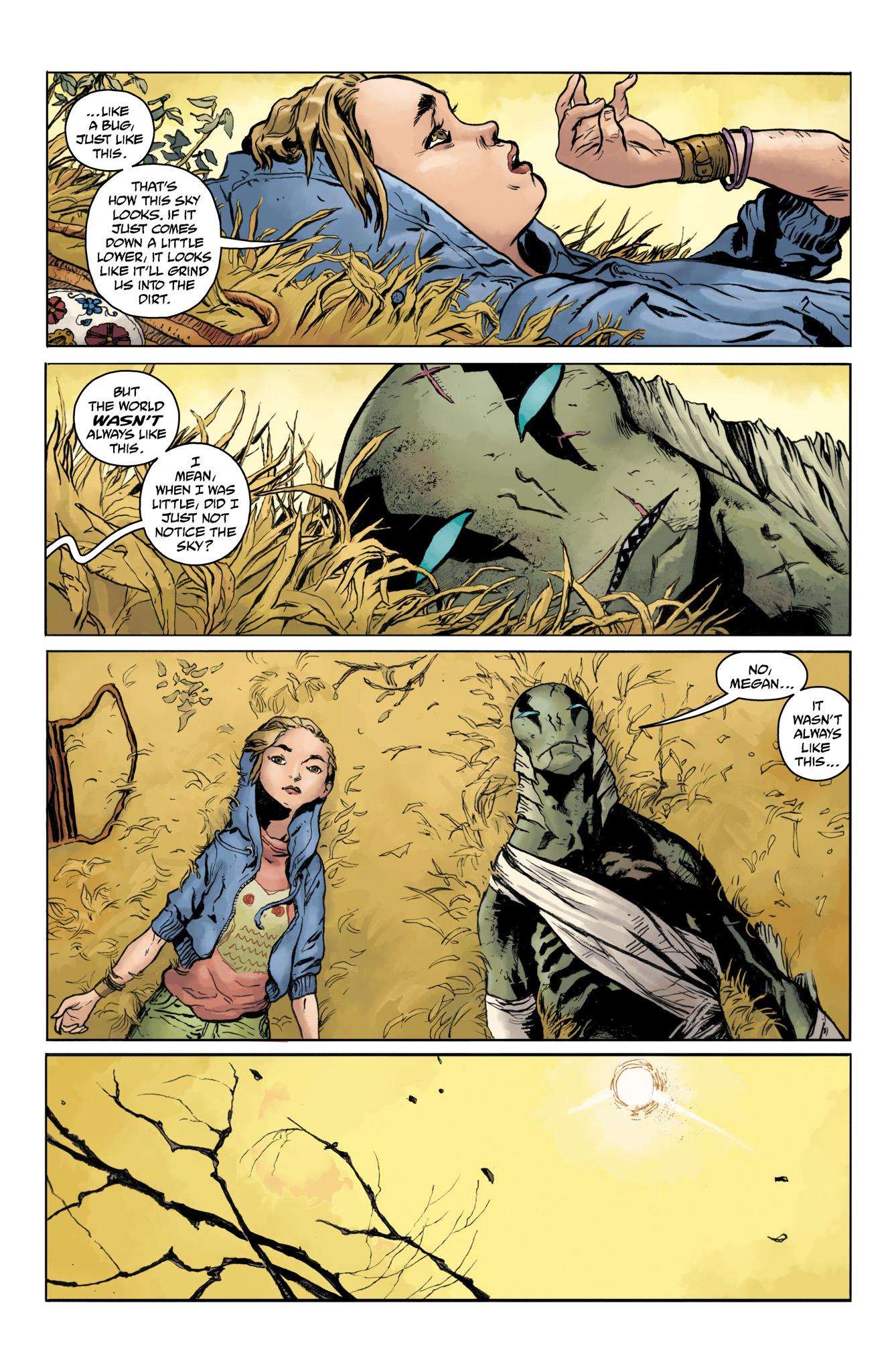Read online Abe Sapien comic -  Issue #20 - 21