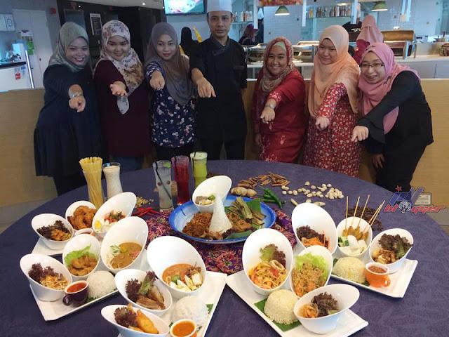 Rilek The Cafe, Swiss Inn Johor Bahru Menyediakan Hidangan Tengahari Serendah RM18.00