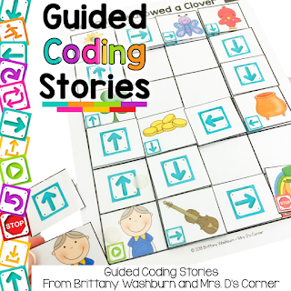 coding in special ed - Coding and STEM in a special education class, planned and differentiated for you... making the entire unit easy. The only thing you need to do is facilitate the learning and higher level thinking. The teacher guide walks YOU, the teacher, through everything in simple words so that coding is not overwhelming, and so you are easily able to introduce how to code to your special needs students. Guided Coding Stories are all about combining stories and coding together in an easy, understandable way.