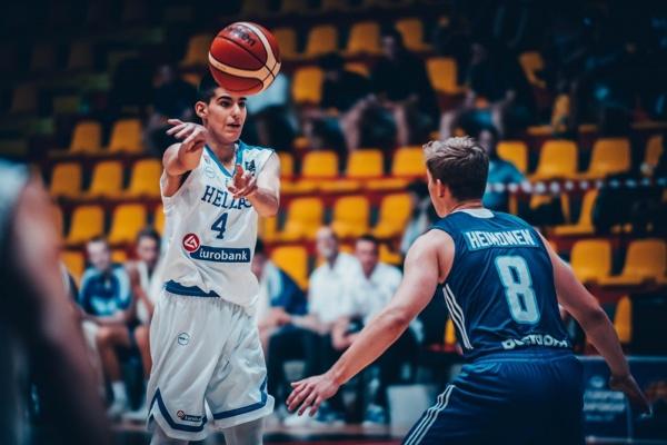 Εφήβων: Ελλάδα-Φινλανδία 81-78. Δεύτερη νίκη στο Ευρωπαϊκό Πρωτάθλημα U18