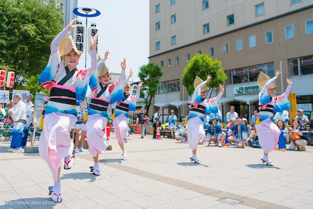 葵新連、女踊りの写真 1枚目