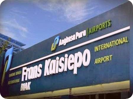 Bandara Frans Kaisepo Normal pada Libur Paskah
