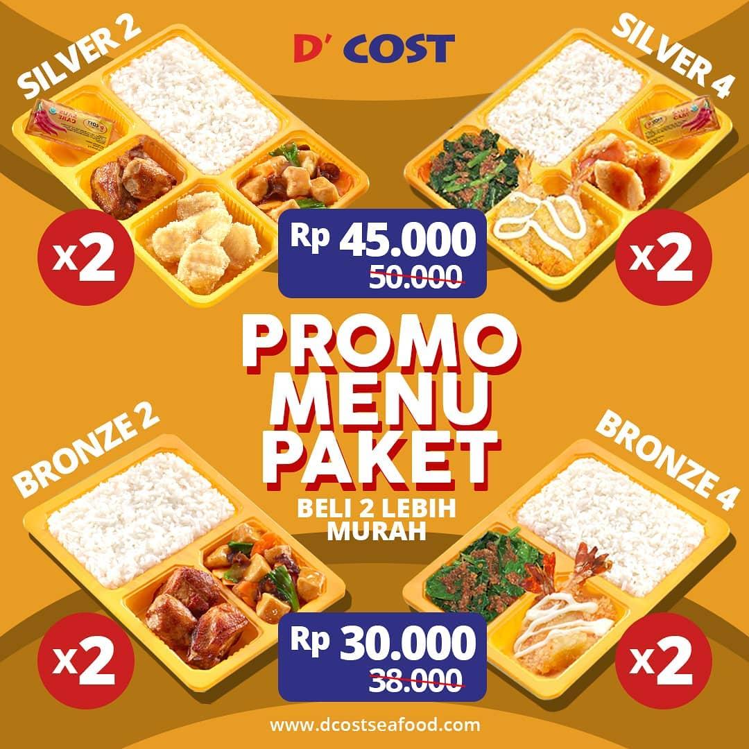 #DCost - Promo Menu Paket D'Cost Mulai 30 - 50 Ribuan + Hemat Ber 2 (s.d 30 Des 2018)