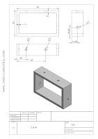 plano caja juguete automata solidworks