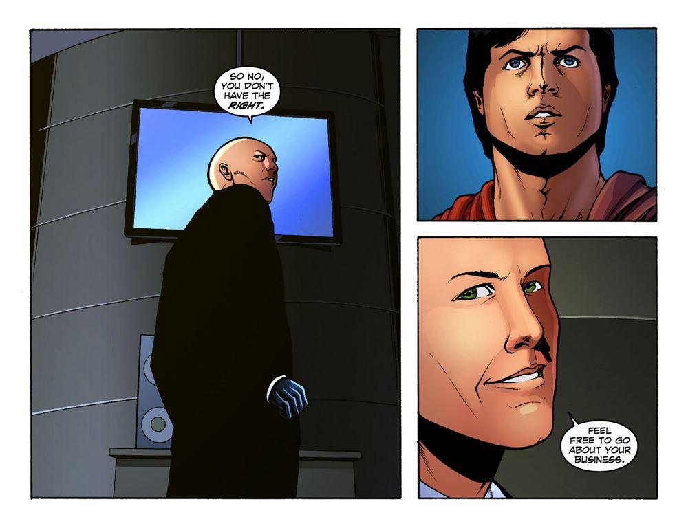 Smallville season 11 014 : Ore no kanojo to osananajimi