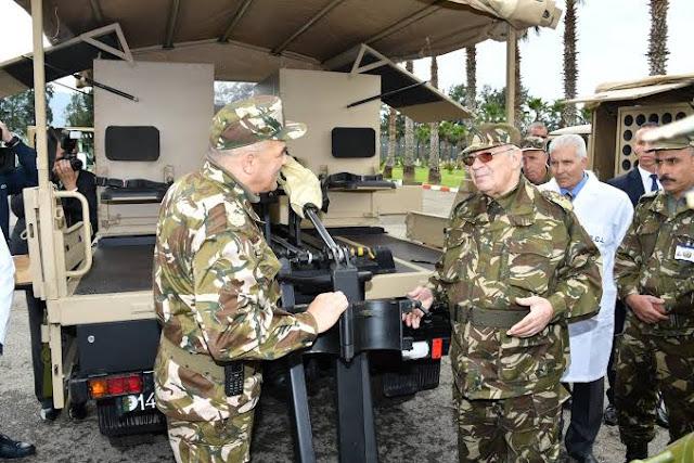 الجزائر تصدر منتوجاتها العسكرية الى الخارج بداية من دول افريقيا