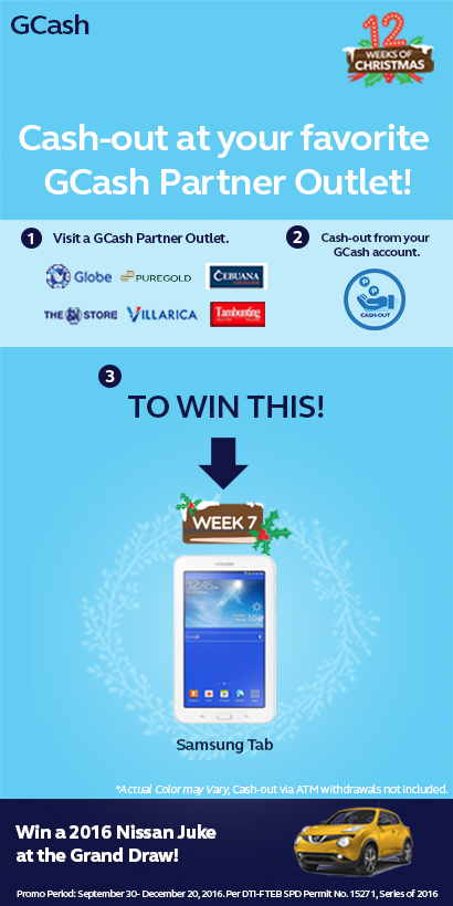 GCash 12 Weeks of Christmas Promo Week 7 ~ Viva Manilena