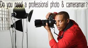 Do you need a professional photo & cameraman?
